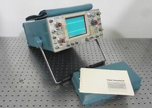 G168946 Tektronix 475 2 channel Oscilloscope W Face Cover Manual