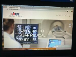 Online Business Medical Supply Store With Inventory