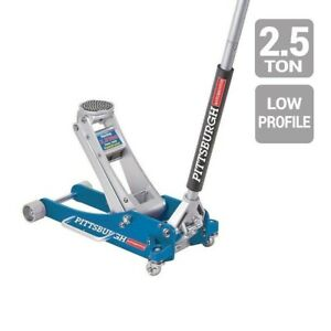 Floor Jack 2 5 Ton Aluminum Rapid Pump Racing Floor Jack 3 2 3 Low Profile