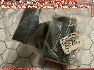 No Longer Made 2005 08 Saleen Mustang Dead Pedal Assembly Pedal Ford Gt Cobra