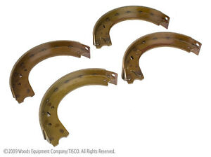 Brake Shoes For Ford 8n Naa Jubilee Tractors qty Of 4 Shoes Part 8n2200baf