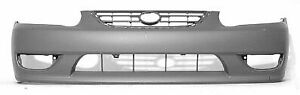 Cpp Front Bumper Cover For 2001 2002 Toyota Corolla