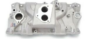 Edelbrock 3704 1987 95 Sb Chevy Performer Tbi Intake Manifold With Egr