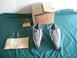 Nos 1963 Ford Galaxie 500 Xl Front Bumper Guards Fomoco 63