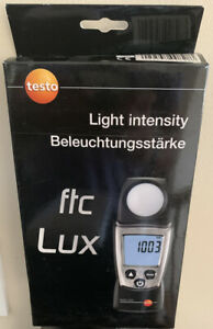 New Testo 540 Digital Pocket sized Light Meter 0 To 99 999 Lux 0560 0540