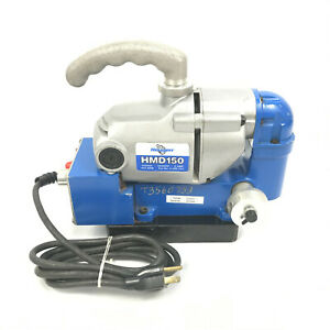 Hougen Portable Low Profile Right Angle Magnetic Mag Drill Machine Press Hmd150