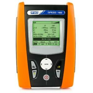 Ht Instruments Speed 418 Safety Tester Ground earth Resistance Rcd Tests