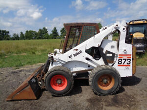 2000 Bobcat 873 Skid Steer Sticks pedals Deutz Diesel 2 300lbs Lift Capacity