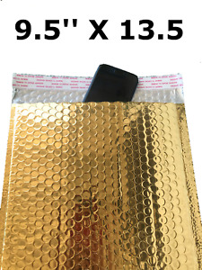 Bubble Mailers 9x12 Padded Envelopes Gold With Usable Space 9 5 X 13 5 Wholesale