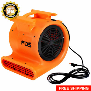Floor Drying Fan Carpet Air Mover Blower 3 Speed Max Flow 4200 Cfm 1 0 Hp