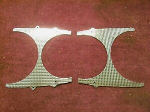 1957 Lincoln Front Fender Opening Headlight Trim Plate Baj 16396 b