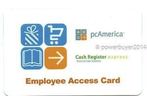 Pcamerica Employee Access Magnetic Swipe Cards 20 Pack High Quality New