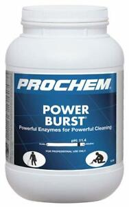 Prochem Power Burst High Ph Enzyme Pre spray 6 5 Lbs