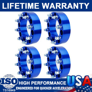 4pc 2 8 Lug Wheel Spacers Adapters 8x6 5 For Chevy Silverado C K 2500 3500 Gmc