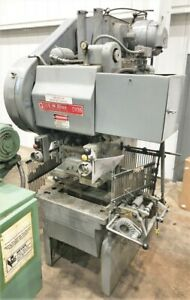 Bliss Ch 35 Press 35 Ton Bliss Punch Press For Sale