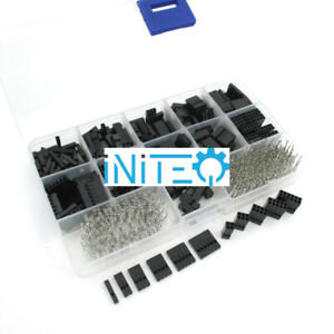 620pcs Dupont Connector Assortment 2 54mm 0 1 Cable Header Kit Female Us