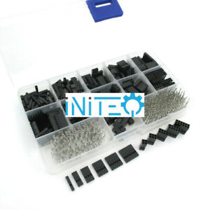 620pcs Dupont Connector Assortment 2 54mm 0 1 Cable Header Kit Male Female Us