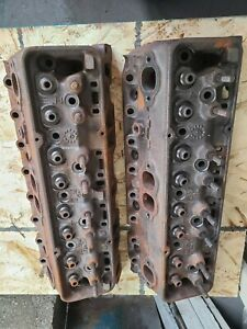 1968 68 Chevy Small Block L79 Z28 3917291 Cylinder Heads