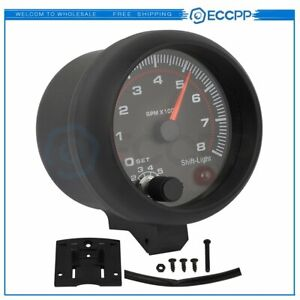 12v 0 8000 Rpm Universal Car 4 6 And 8 Cylinder Engines Tachometer