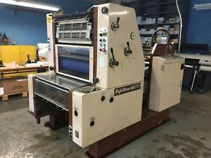 Fuji Offset 65 Single Color Printing Press 660 X 483 26 X 19 Format Size