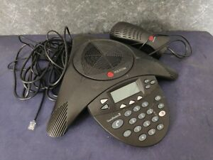 Polycom Soundstation 2 Expandable Conference Phone W Power Adapter