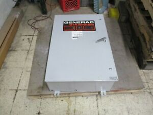 Generac Automatic Transfer Switch 1421200200 100a 600v 120 208v System Used