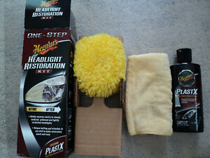 Meguiar s Headlight Restoration Kit Restores Car Headlights