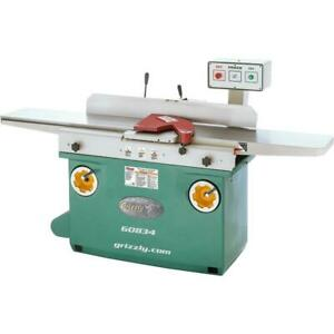 Grizzly G0834 12 X 84 Jointer With Spiral Cutterhead