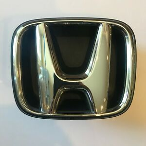2014 2015 Honda Civic Coupe Front Grille Emblem With Base 71124 ts8 a51 m1 Oem