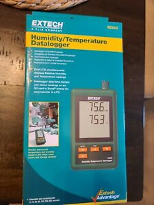 Humidity temperature Datalogger Sd500