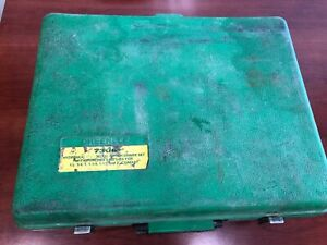 Greenlee 7306 Hydraulic Knockout Set 767 Used Good Working Condition