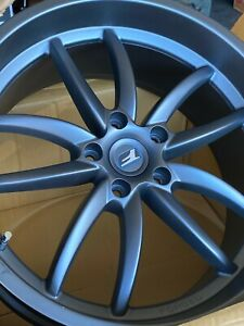 Oem Lexus F Sport 19 Split Five Spoke Forged Aluminum Wheel Rear Ptr45 53082
