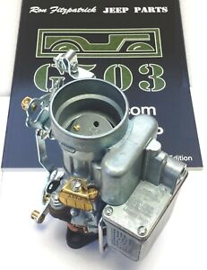 Wwii Willys Mb Cj2a Ford Gpw Gpa a1223 Carter Wo Carburetor Assembly L 134
