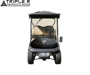 Golf Cart Full Body Wrap For Club Car Precedent punisher