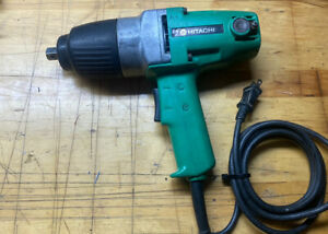 Hitachi Wh16 Wh 16 5 8 220v 1 2 Impact Wrench Corded Free Shipping