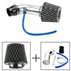 Universal 3 75mm Car Dry Ram Turbo Cold Cone Air Flow Intake Filter Vent Pipe