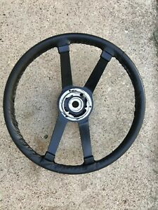 1972 1976 Porsche 914 Vdm Hard Rubber Steering Wheel 91434780411