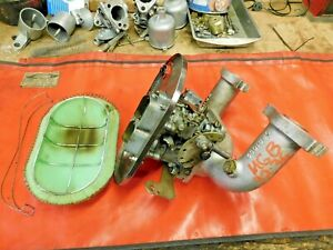 Mgb Mgb Gt Mga Weber 32 36 Carburetor Manifold W Air Cleaner