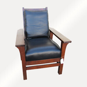 A C Sikes Chair Company Morris Chair W1415 Stickley Era Free Ship To Ca