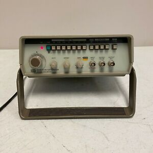Gw Instek Function Generator Gfg 8015g Tested And Working