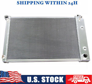Aluminum Radiator For 1970 1981 Chevy Camaro 1975 1979 Nova 76 77 78