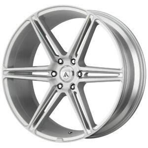 4 asanti Abl 25 Alpha 6 22x10 6x5 5 30mm Brushed Wheels Rims 22 Inch
