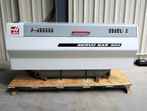 Haas Bar 300 Bar Feeder 3 Diameter X 48 Maximum Bar Capacity Good Used