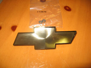Brand New 1998 2005 Chevy S10 Blazer Gold Front Bow Tie Grille Emblem 15634687