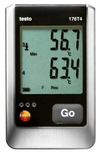 Testo 176 T4 4 channel Temperature Data Logger With 4 External Tc
