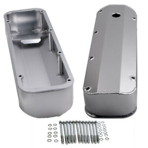 Tall Valve Covers For Ford 429 460 Bbf Big Block Fabricated Aluminum Stain Bolts