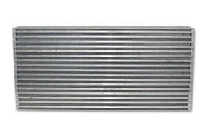 Vibrant Horizontal Flow Air To Air Intercooler Core 25 W X 12 H X 3 5 Thick