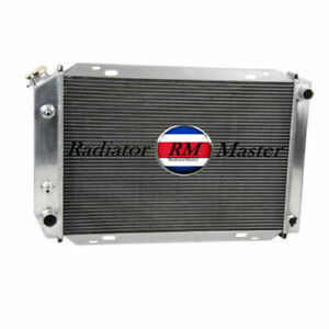 Aluminum Radiator For 1979 1993 Ford Mustang 5 0l V8 3row