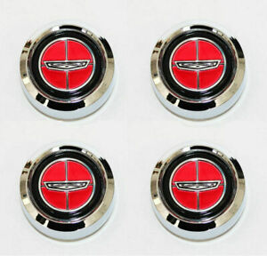 New Ford Gran Torino Or Ford Ranchero Magnum 500 Wheel Center Caps Set Of 4