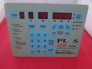 Electro Cam Ps 5001 10 016 Programmable Limit Switch